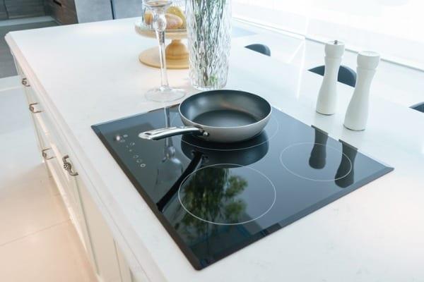 cooktop electric range