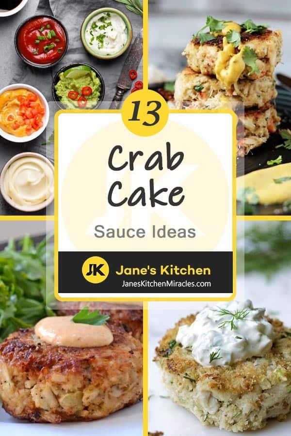 Crab cake sauce pin