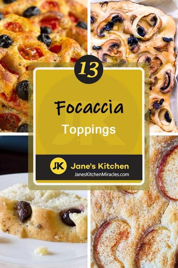 focaccia toppings pin