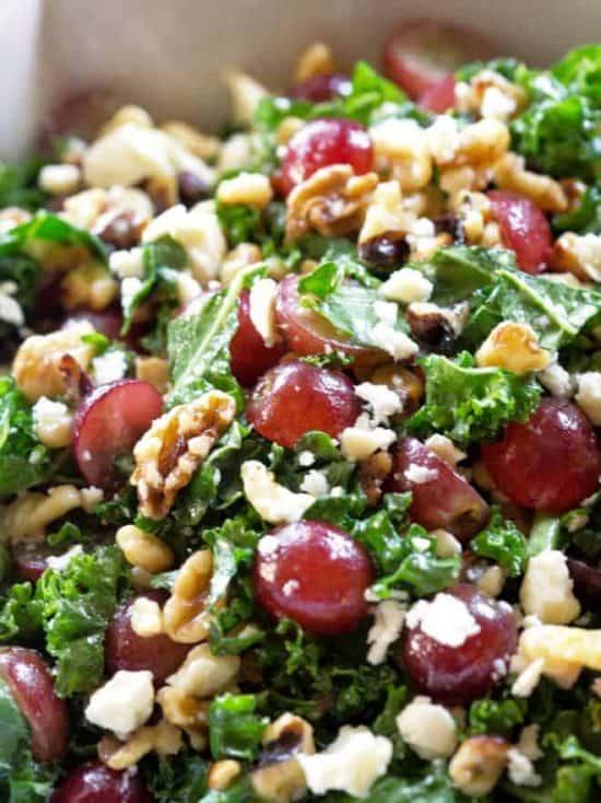grape feta salad