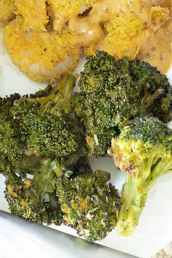 sesame ginger broccoli is what goes with teriyaki chicken