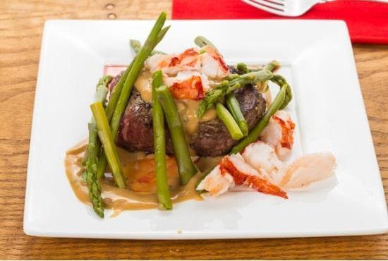 steak oscar toppings
