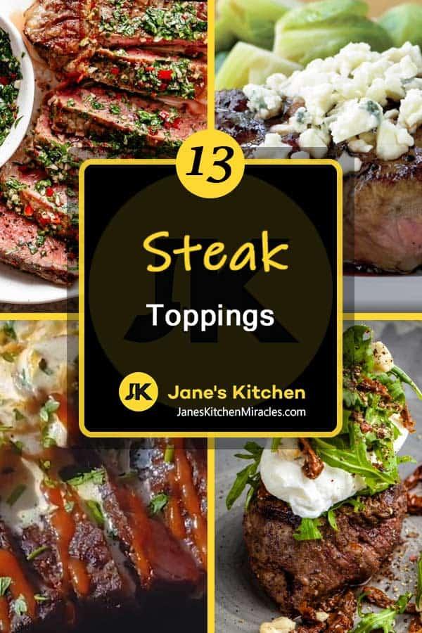 Steak toppings pn