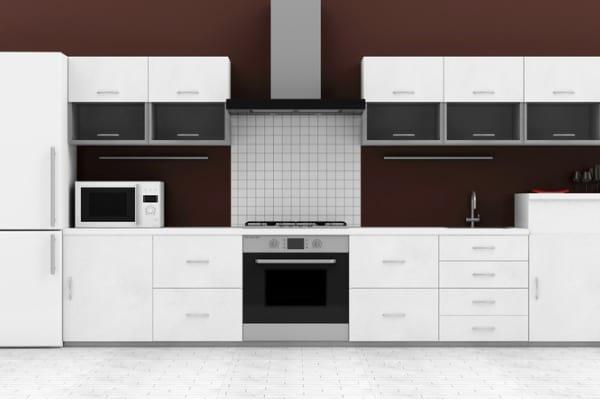 storage drawer electric range