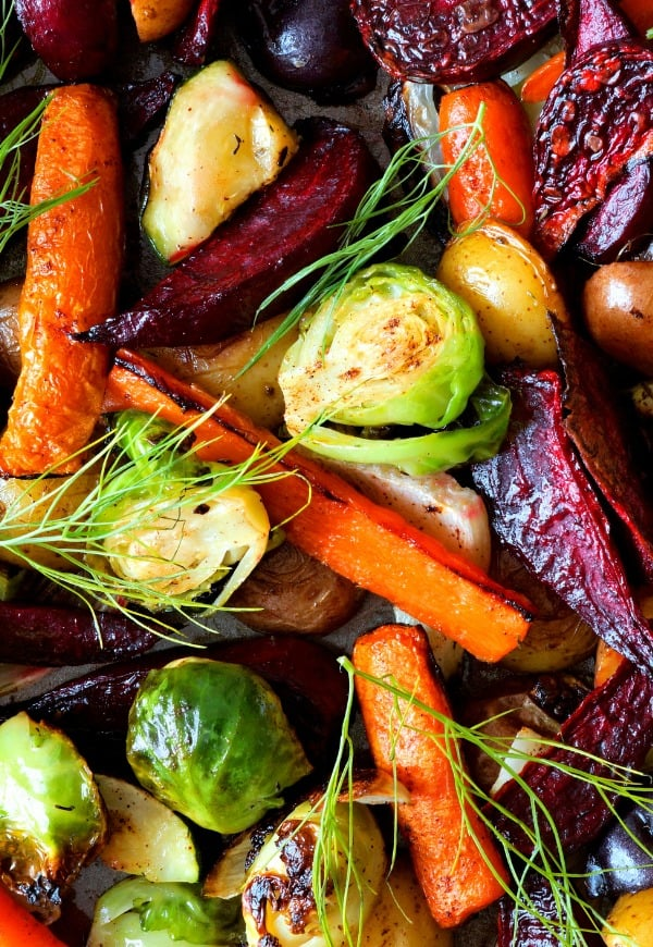 oven roasted veggies