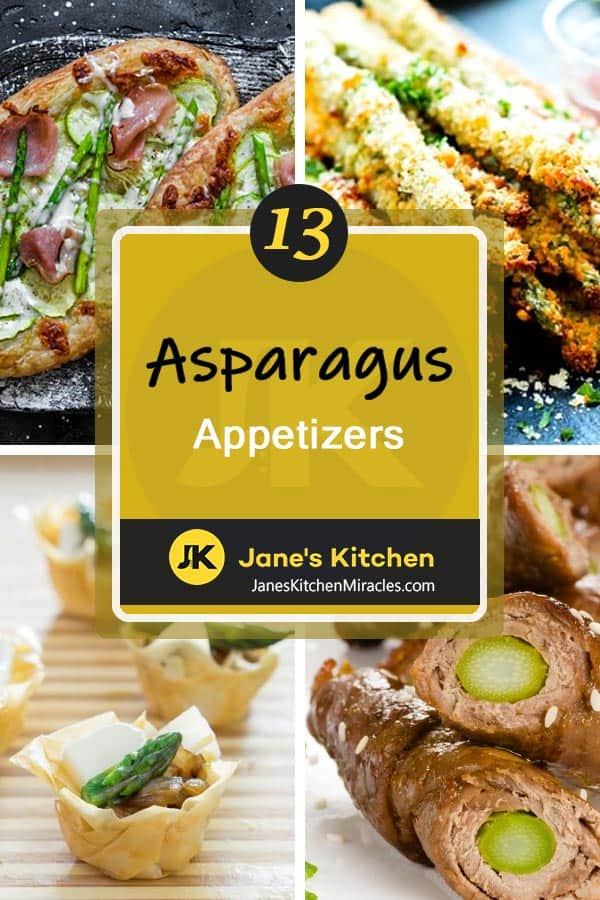 asparagus appetizers pin