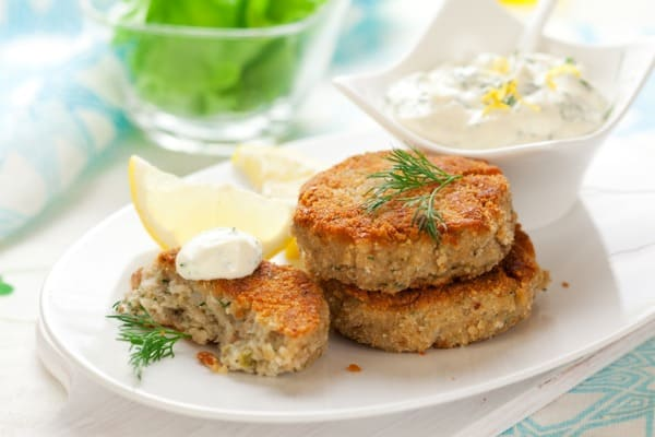 bake crab cake in oven