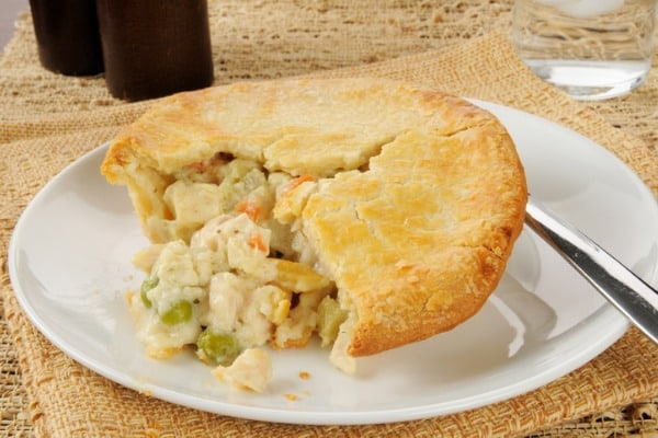 chicken pot pie and dumplings