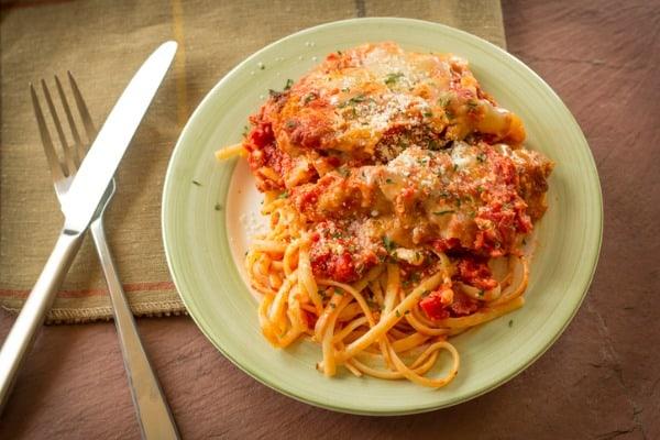 reheat chicken parmesan