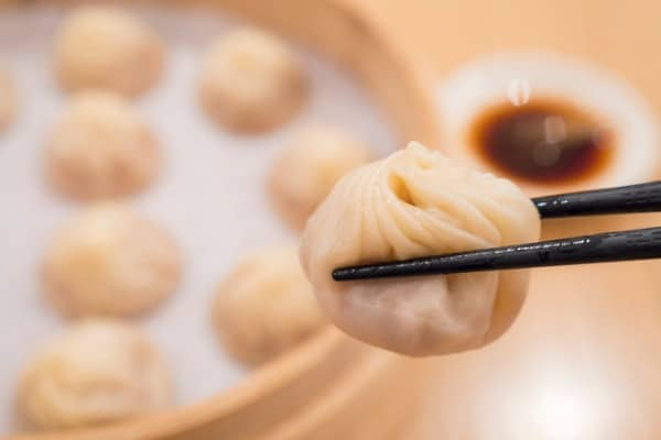 xiao long bao dumplings