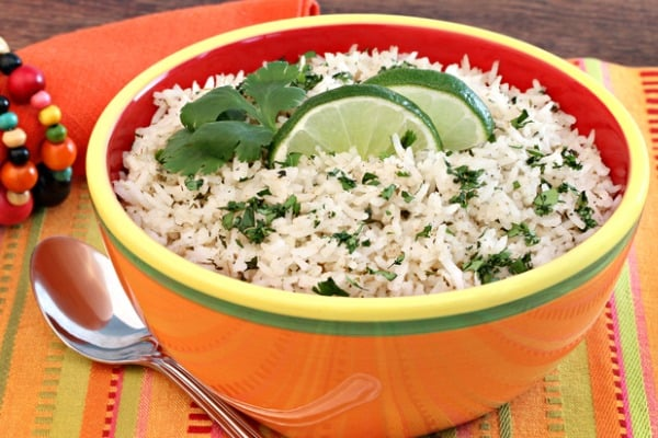 cilantro rice for soup