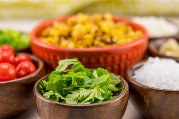 cilantro for chili