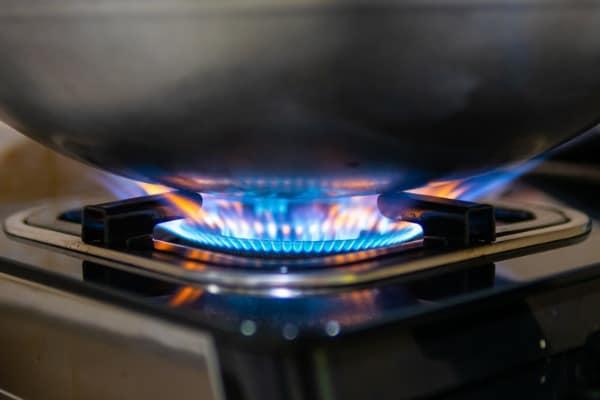 proper dry frying pan