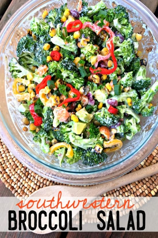 southwestern broccoli salad