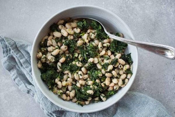 spinach white beans caprese chicken