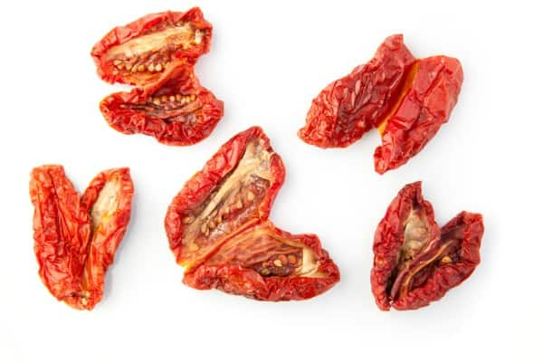 sun dried tomatoes - one of our favorite Vegan baked potato toppers
