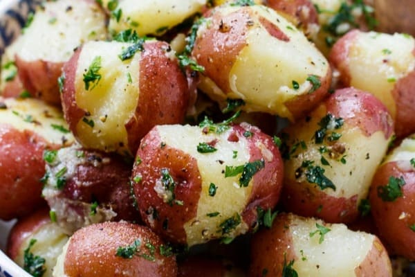 buttered parsley potatoes