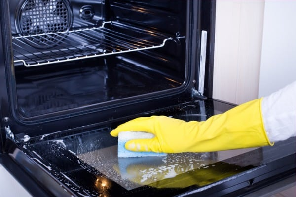 Keeping kitchen appliances clean