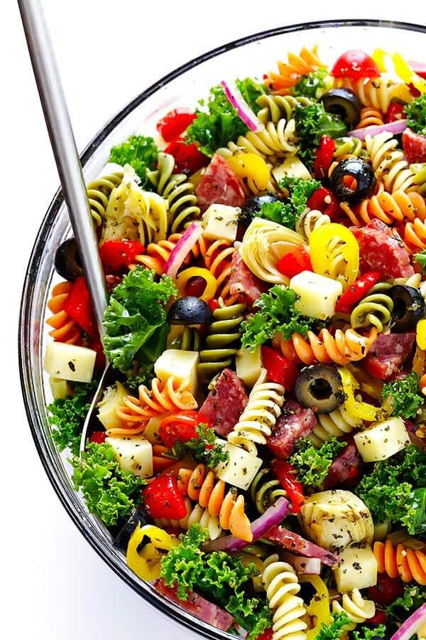 Amazing Antipasti Pasta Salad