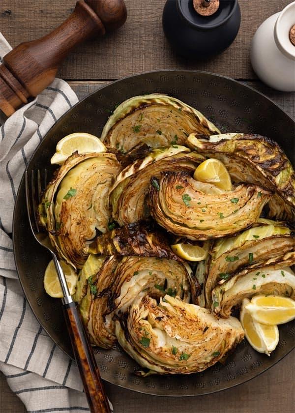 Caramelized Cabbage Wedges