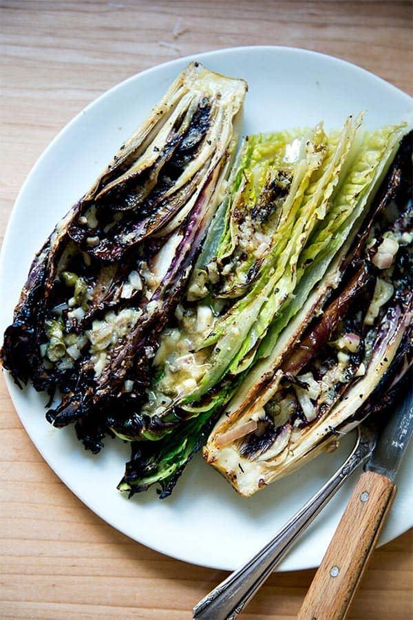 Charred Caesar Salad