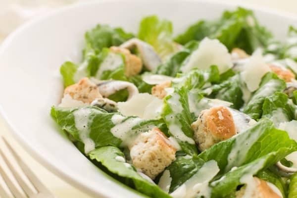 Crispy Classic Caesar Salad
