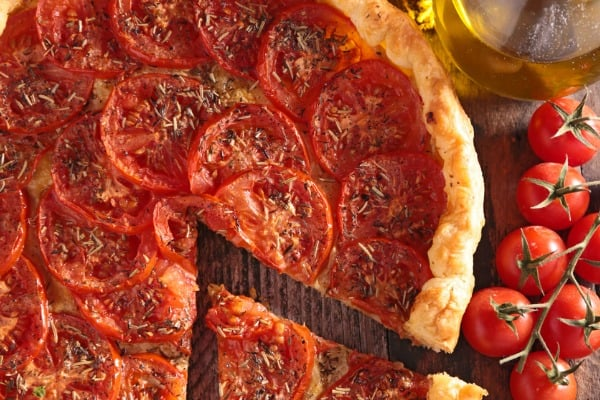 Garden Harvest Tomato Tart