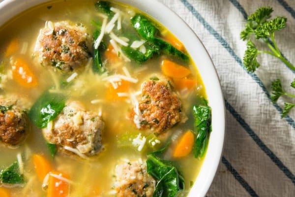 Hearty Italian Wedding Soup