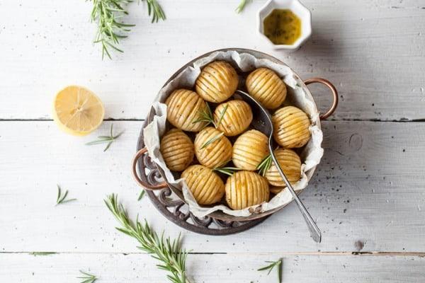 Lemony Mediterran an Potatoes