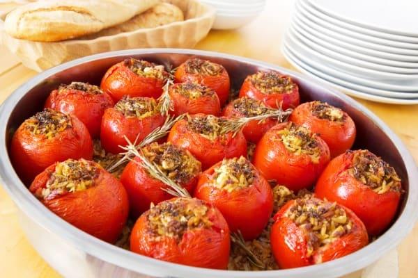 Savory Herb Stuffed Tomatoes