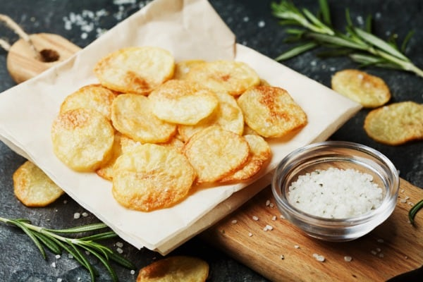 Simply Sensational Homemade Potato Chips