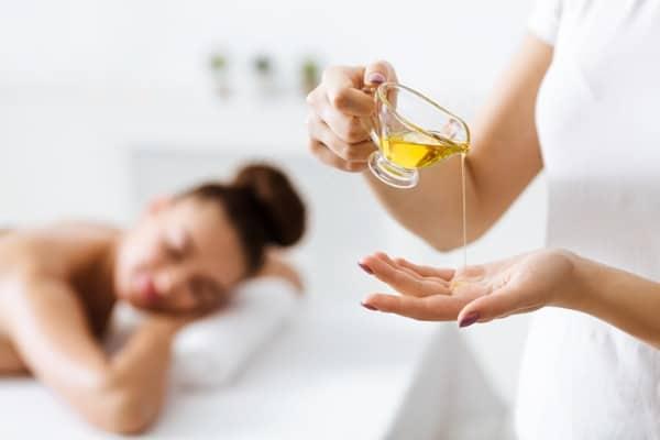applying essential oils