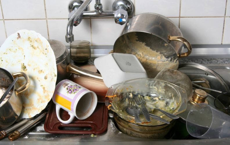How to avoid a sink full of dishes