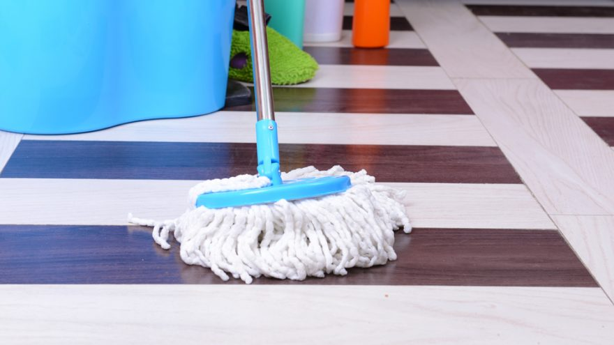 learn the right way to mop your kitchen