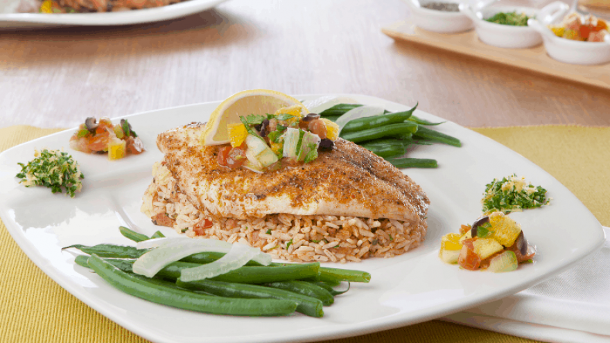 what to serve with tilapia