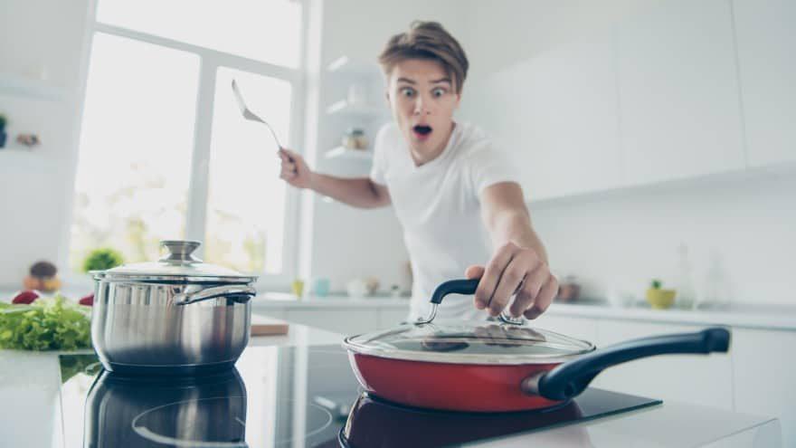 Mistakes beginner cooks make