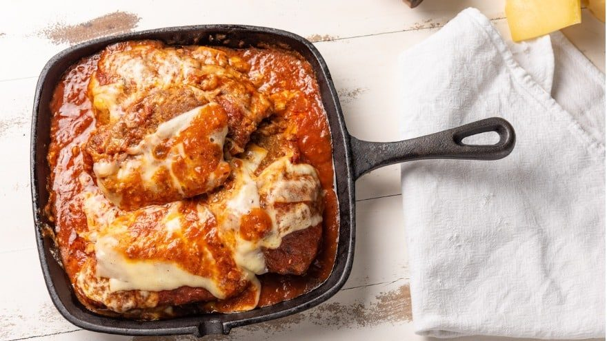 what to serve with chicken parmesan.