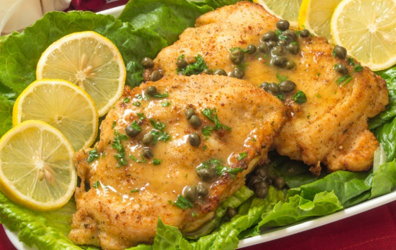 What to serve with chicken piccata