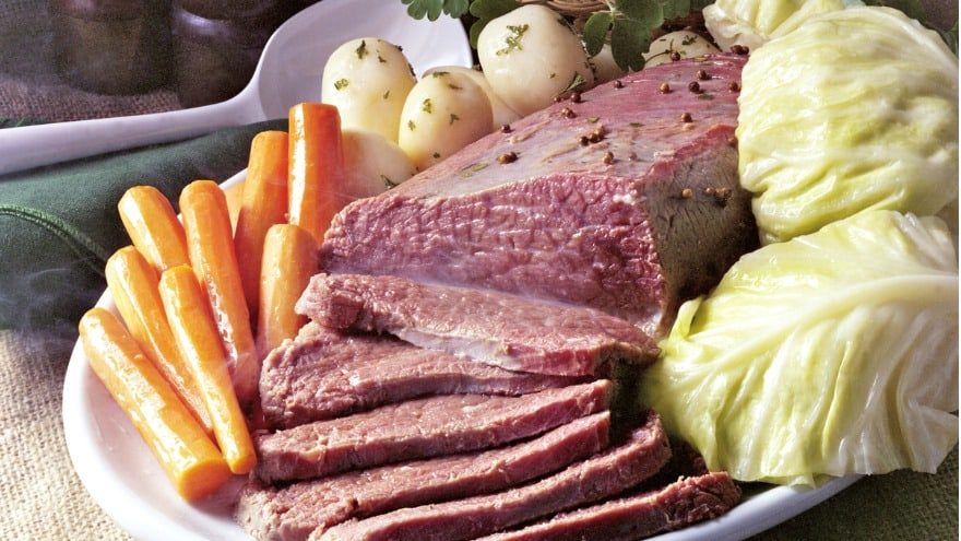 what to serve with corned beef and cabbage