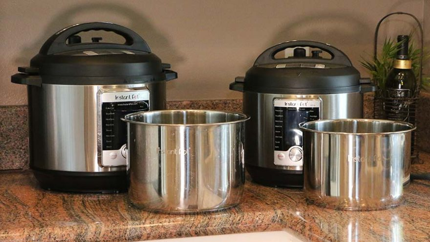 What's the best instant pot size to buy?