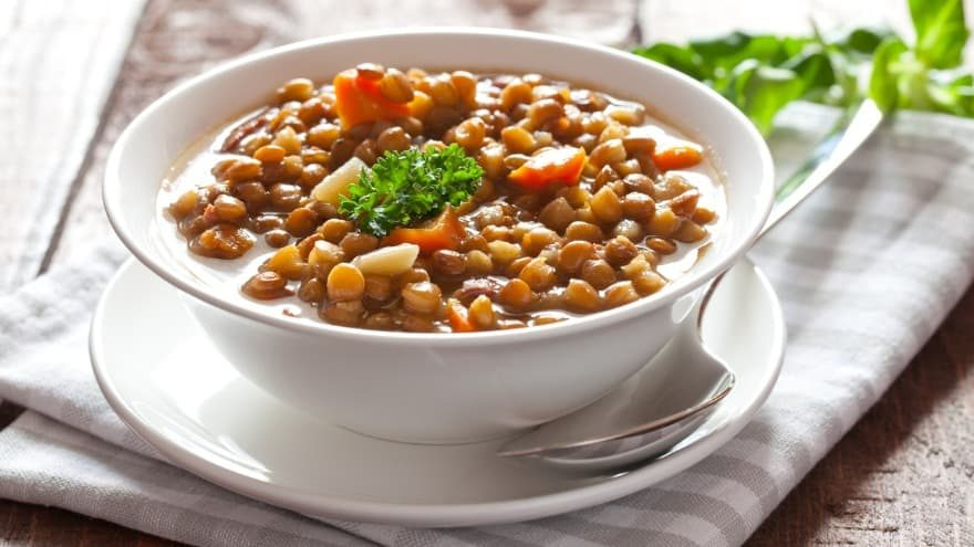 what to serve with lentil soup
