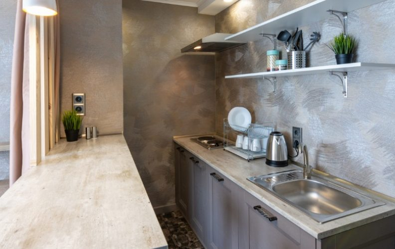 How to Organize a Small Student Apartment Kitchen