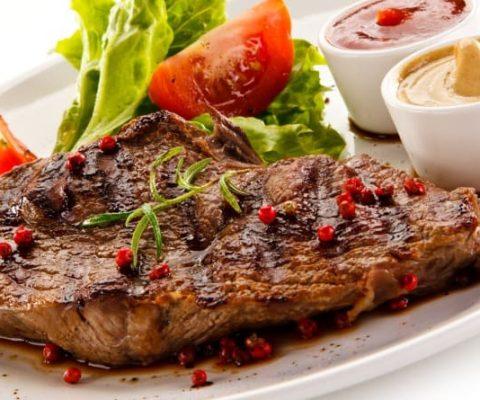 Steak toppings