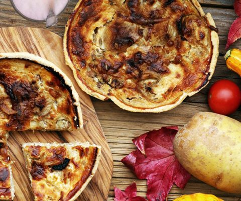 Ideas for what to serve with quiche