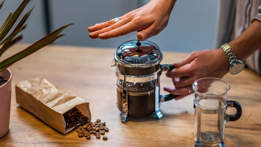 5 Health Benefits of French Press Coffee