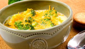 What to serve with broccoli cheese soup