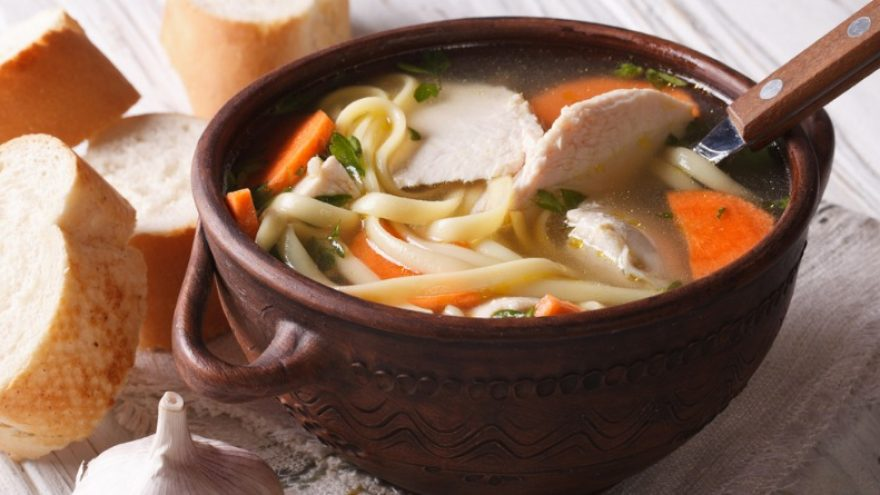 What to serve with chicken noodle soup