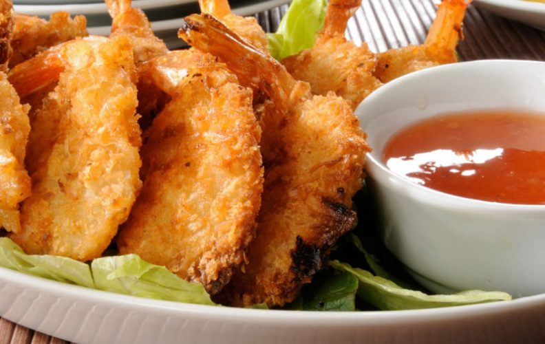 What to serve with coconut shrimp