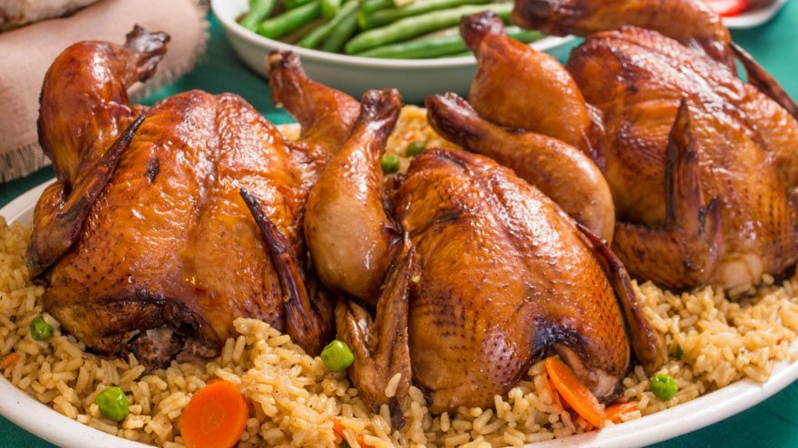 What to serve with Cornish hen meal