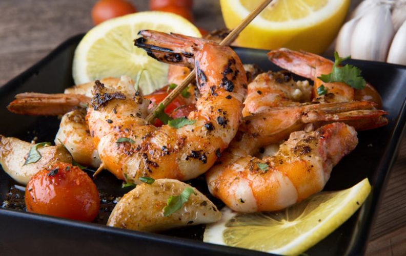 What to serve with grilled shrimp
